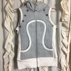 Lululemon Limited Edition Herringbone Quilted Vest